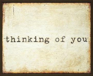Thinking of You Little Wall Art - Framed Art - Wall Decor - Home ...