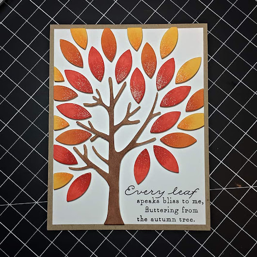 Die Cut Dimensional Design • TealKat's Blog