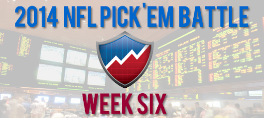 NFL Picks - Against The Spread - Week 6