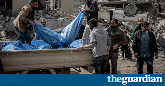 Mosul's children were shouting beneath the rubble. Nobody came | World news | The Guardian