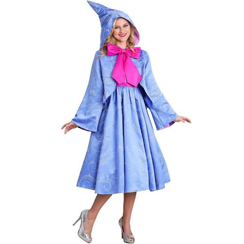 Disguise Limited Disney Cinderella Fairy Godmother Plus Size Costume