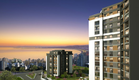 Unique Design Sea View Apartment for sale In Pendik Istanbul
