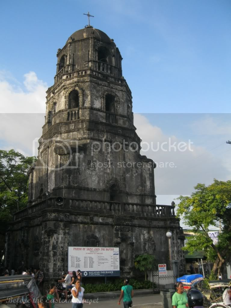 Bell tower of Tabaco Church, Bicolandia