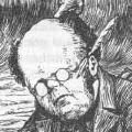 Banker, from Lewis Carroll's The Hunting of the Snark, illustration by Henry Holiday