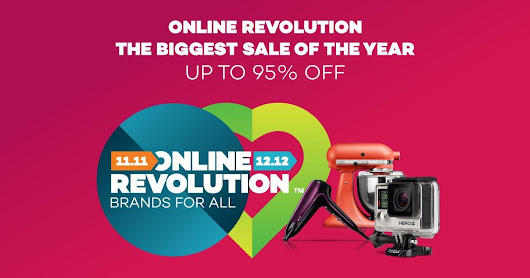 Online Revolution 2016 | Biggest Online Sale of the Year - Lazada Malaysia