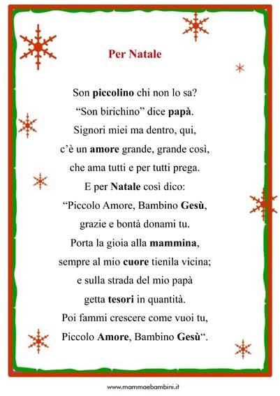 Poesia Di Natale Per Bambini 2 Anni.Frasi Sul Natale Per Bambini Scuola Infanzia