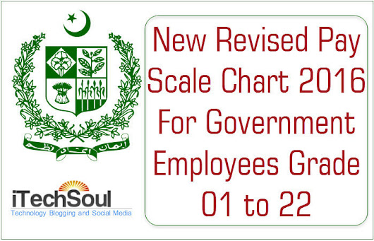 New Revised Basic Pay Scale Chart 2016 For Government Employees Grade 01 to 22 - Itechsoul