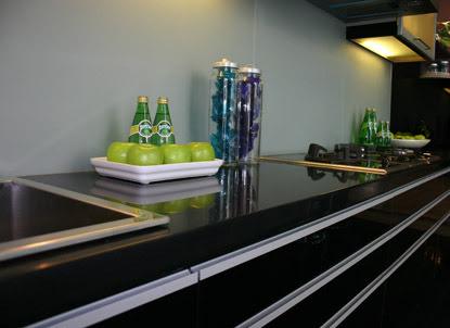 Black Hanex Kitchen Top