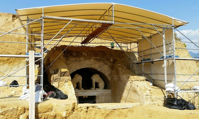 Αμφίπολη :Το μυστικό του τάφου μετά τη ΔΕΘ