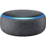 Amazon Echo Dot (3rd Generation) Bluetooth Smart Speaker - Alexa Supported - Charcoal - Wireless LAN