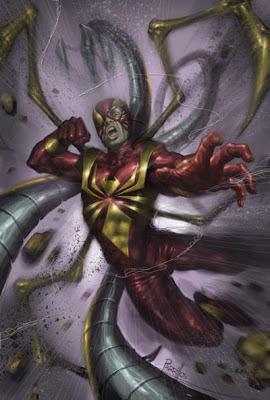 Spider-Man disegnato da Lucio Parrillo