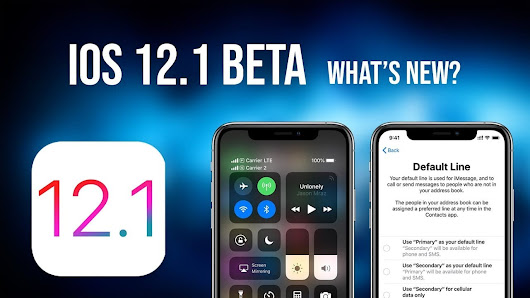 Apple launches the fourth beta of iOS 12.1, watchOS 5.1 and tvOS 12.1