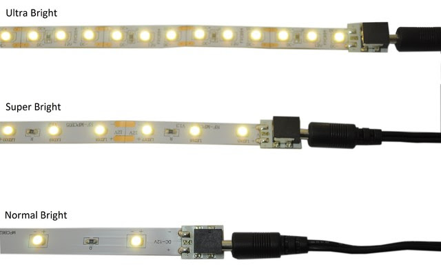 Undercabinet and Accent Flexible LED Strips - - kitchen lighting ...
