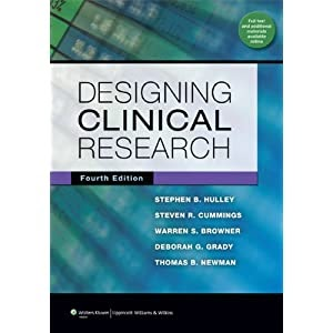 Ebook Download Designing Clinical Research Stephen B Hulley 9781608318049 Books