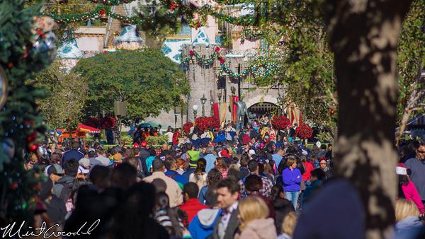 Disneyland Resort, Disneyland, Christmas Time, Christmas, Time, Main Street U.S.A.