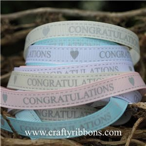 congratulations ribbons