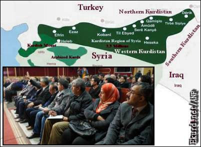 Αυτόνομο Δυτικό Κουρδιστάν, εφιάλτης για την Τουρκία