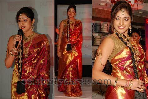 Models in Kalanikethan Bridal Silk Sarees   Saree Blouse