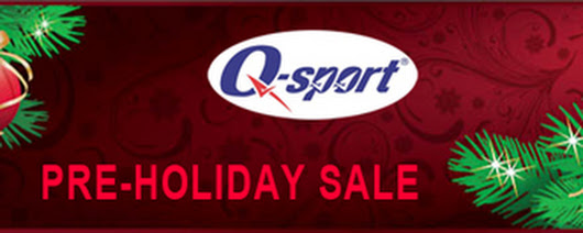 Stocking Stuffer Savings of 20% Off at Q-sport