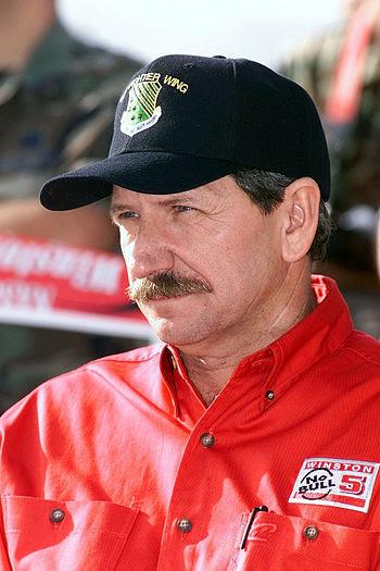 Seven time NASCAR Winston Cup Champion, Dale E...