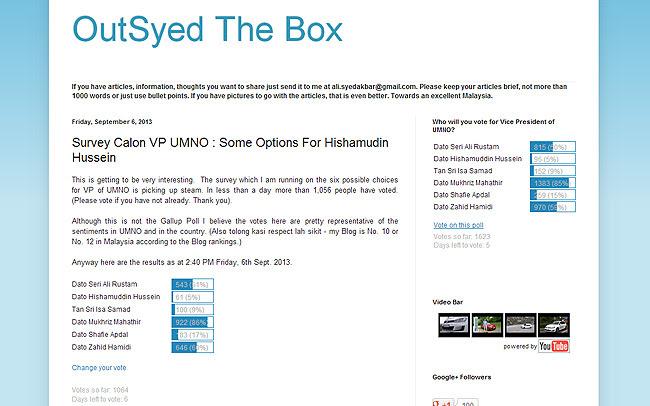 survey blog outsidethebox