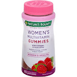 Natures Bounty Optimal Solutions Multivitamin, Women's, 50 mg, Raspberry Flavored, Gummies - 80 gummies