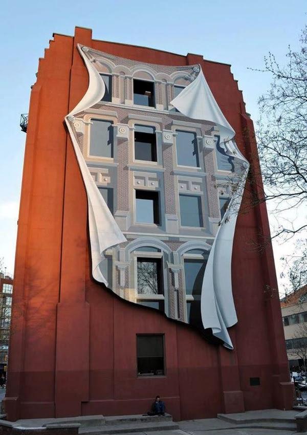 Amazing Huge Street Art on Building Walls (10)