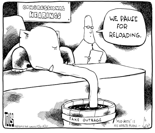 Pax on both houses: Tom Toles Cartoon: The GOP And
