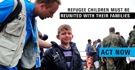 Help reunite refugee children with their families in the UK