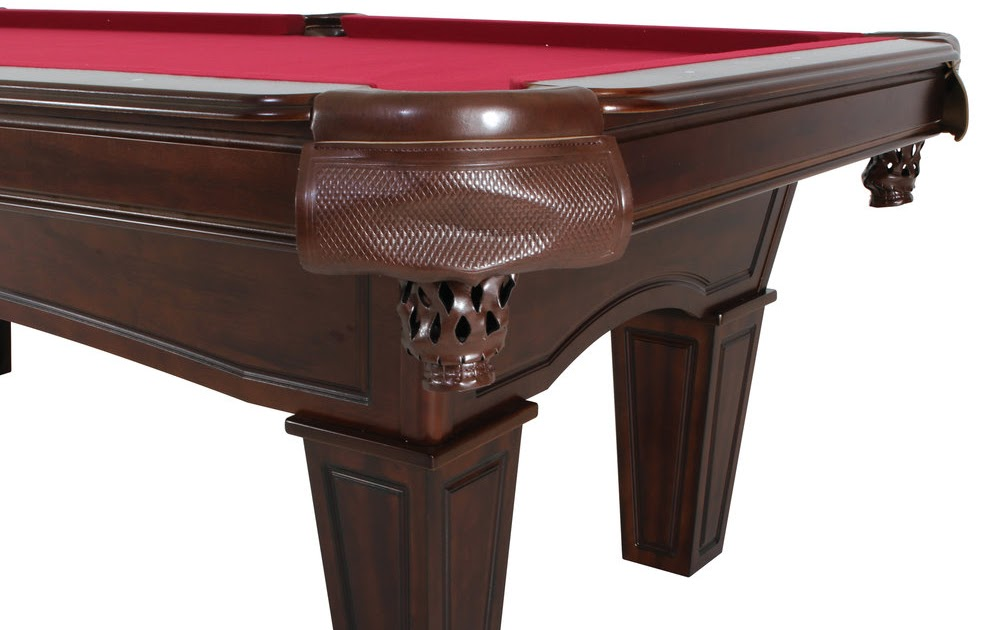 Mft901tbl 839 burgundy billiard pool table with for 10 in 1 pool table
