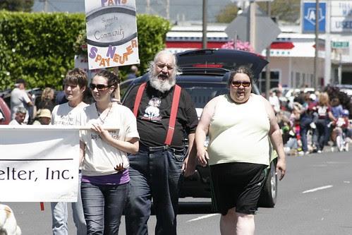 United PAWS of Tillamook, Parade