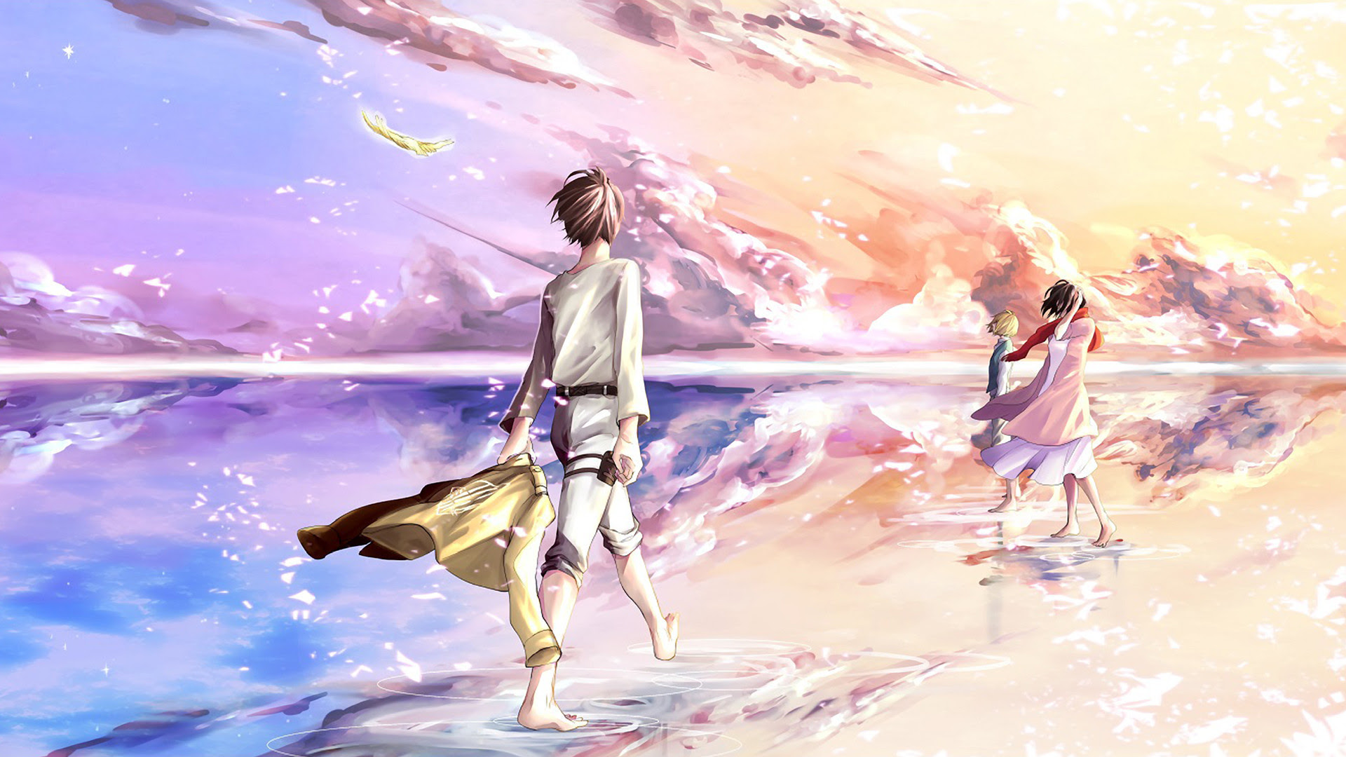 Shingeki No Kyojin Armin Fanart Dowload Anime Wallpaper Hd