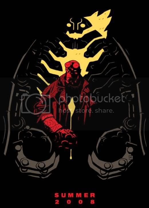 'Hellboy 2: The Golden Army' - Comic-Con limited-edition poster