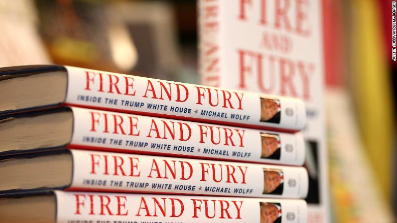 Fire And Fury Book Sales Reach 1.7 Million Copies, Publisher Says by Brian Stelter for CNN Money