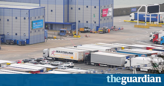 Catastrophe looms at ports after Brexit, shipping industry warns | Politics | The Guardian