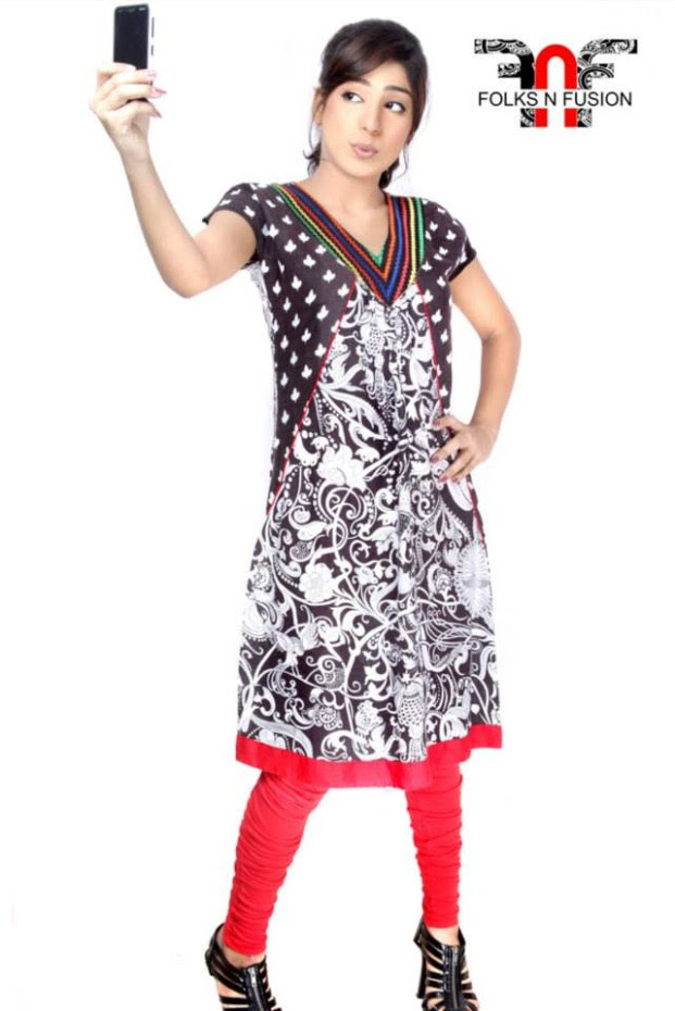 Folks N Fusion Tops-Kurti and Tights Fashion for Girls-Womens6