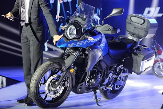 Suzuki Unveils New V-Strom 250 Adventure Bike Concept - ADV Pulse