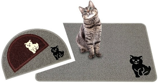 Review: Nature's Cat Litter Mat - The Conscious Cat