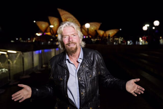 "Vivid Sydney on Twitter: ""Bright minds think alike! Sir @richardbranson out on an early-week visit, exploring the Light Walk. #VividSydney """