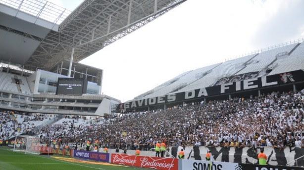 Jogo será na Arena Corinthians