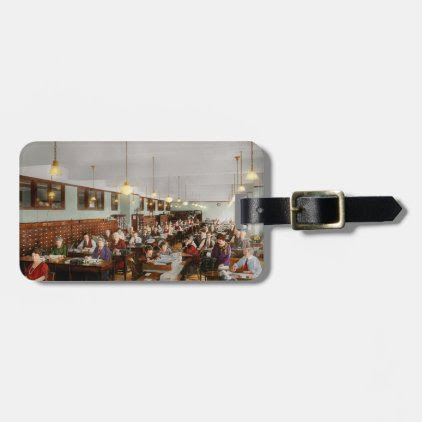 Accountant - Workaholic 1923 Luggage Tag