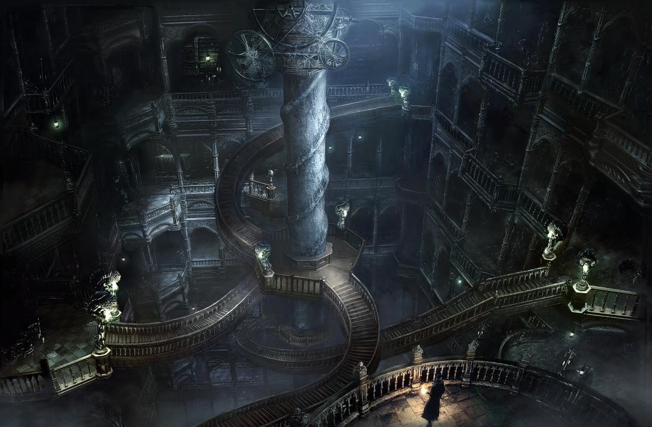 ゴシック Stairway Bloodborne 壁紙 38867104 ファンポップ