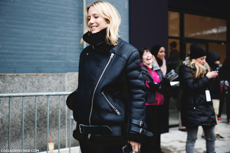 New_York_Fashion_Week-Street_Style-Fall_Winter-2015-Acne_Velocite_Jacket-