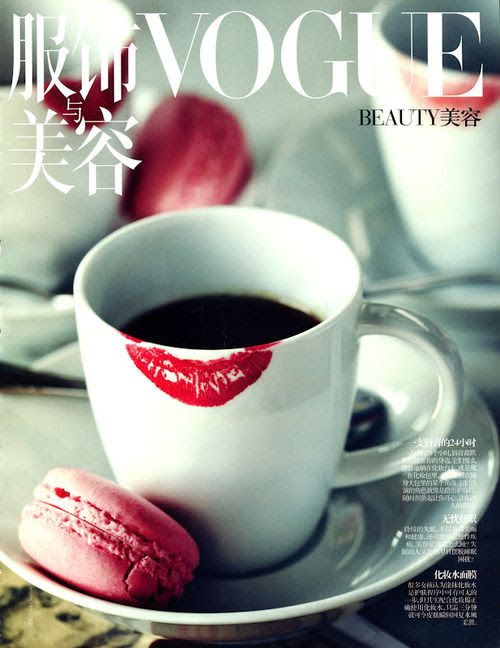 lipstick stain <3  Portada Vogue Beauty