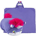 Comfy Critters Stuffed Animal Blanket, Unicorn