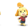 Isabelle Animal Crossing Smash Outfits