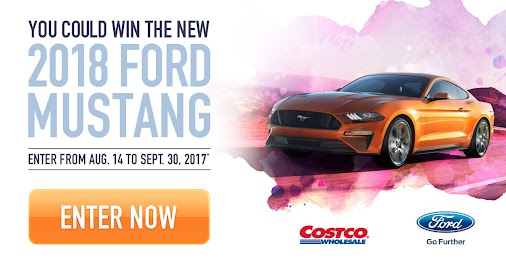 Enter for a chance to #WIN the new '18 #FordMustangFastback #CostcoCanada +Ford Motor Company #Cos...