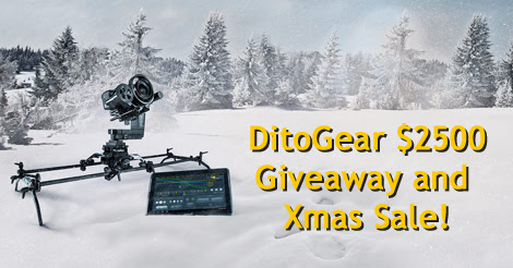 Enter and WIN! @DitoGear $2500+ Gear Giveaway! PLUS: 15% Off Xmas Sale!