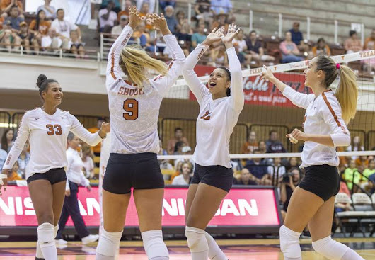 Without Micaya White, Texas prepares for start of its season in the Orange-White Scrimmage - Big 12 Blog Network