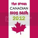 The Great Canadian Blog Bash 2012
